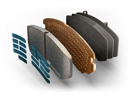 HARDEX ENERGY Brake Pads are approved by EMARK ECE R90 by VCA, LEAFMARK by NSF & AMECA