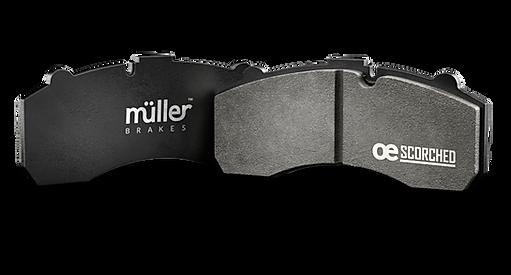 Muller CV Brake Pads ECE EMARK R90