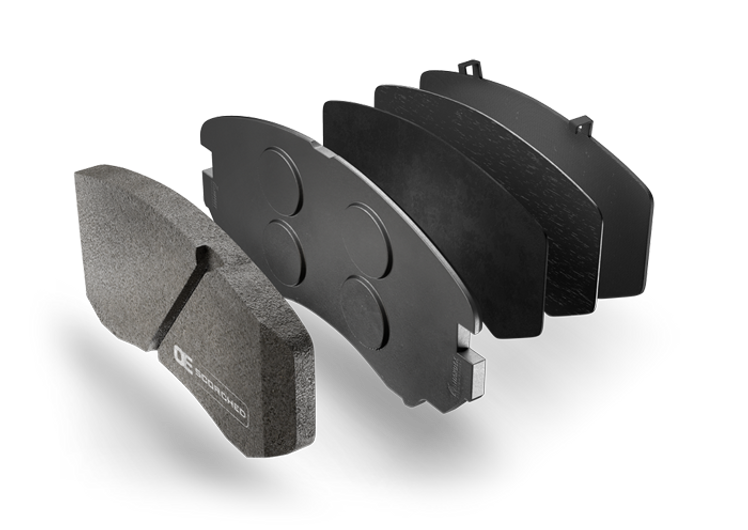 HARDEX Canadian Metallic Brake Pads approved by EMARK ECE R90, LEAFMARK NSF & AMECA
