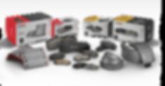 HARDEX Metallic Brake Pads EMARK ECE R90