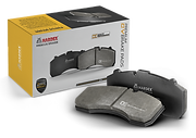 HARDEX Canadian CV Brake Pads approved by EMARK ECE R90, LEAFMARK NSF & AMECA