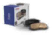 HARDEX Brake Pads approved by EMARK ECE R90, LEAFMARK NSF & AMECA