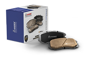HARDEX Canadian Brake Pads approved by EMARK ECE R90, LEAFMARK NSF & AMECA