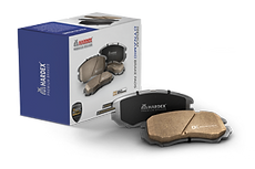HARDEX Dynamic Brake Pads approved by EMARK ECE R90, LEAFMARK NSF & AMECA