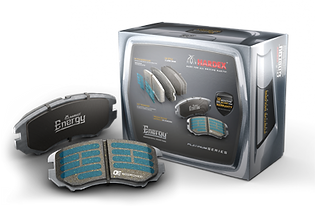 HARDEX ENERGY Platinum Brake Pads are approved by EMARK ECE R90 by VCA, LEAFMARK by NSF & AMECA