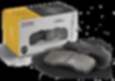 HARDEX CV Brake Pads approved by EMARK ECE R90, LEAFMARK NSF & AMECA