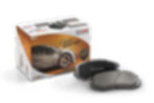 HARDEX X-Series Brake Pads approved by EMARK ECE R90, LEAFMARK NSF & AMECA