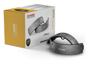 HARDEX Brake Shoes approved by EMARK ECE R90, LEAFMARK NSF & AMECA