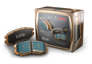 HARDEX ENERGY GOLD Brake Pads are approved by EMARK ECE R90 by VCA, LEAFMARK by NSF & AMECA