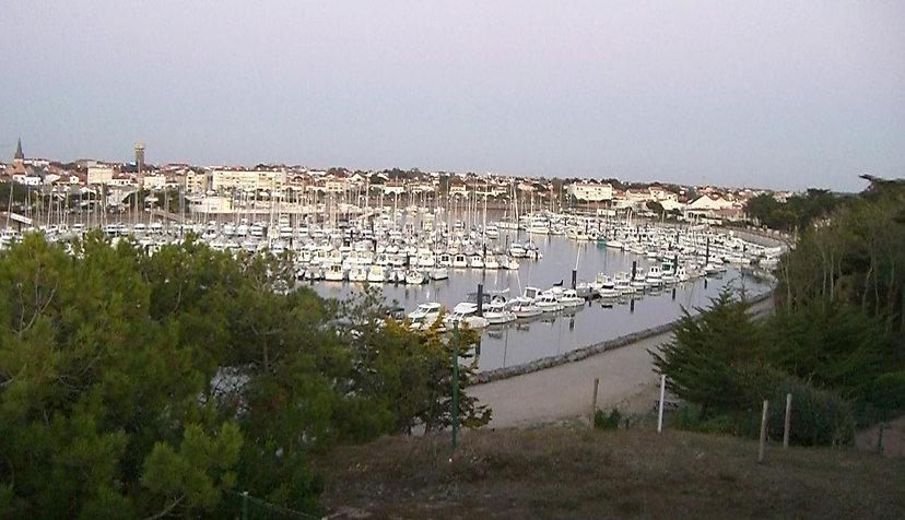 Le port de plaisance de Sain-Gilles6croix-de-Vie