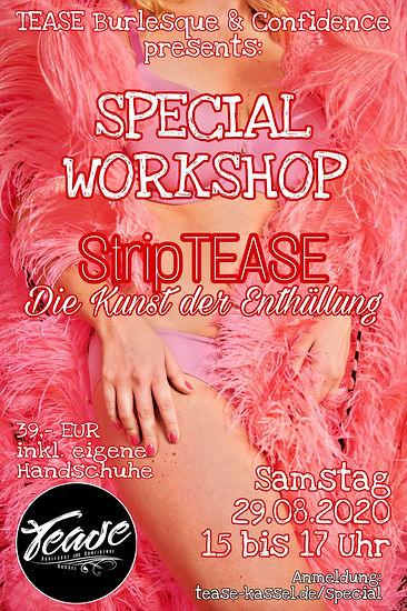 Special Workshop StripTEASE