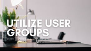 Effective Sharing with User Groups