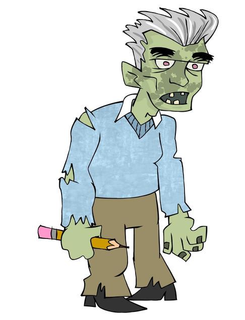 Zombie  Jack Kirby