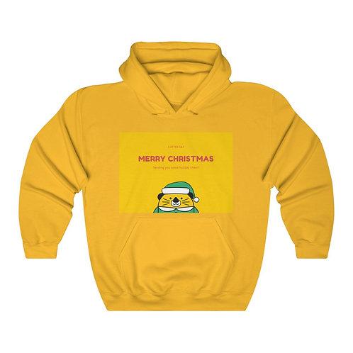 'Merry Christmas' Unisex Heavy Blend™ Hooded Sweatshirt