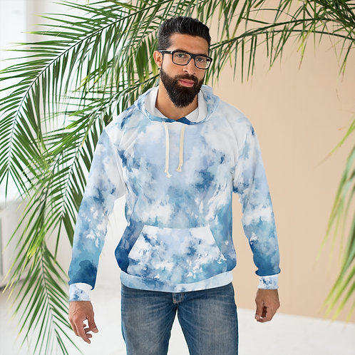 'Cool Abstract Designer ' AOP Unisex Pullover Hoodie
