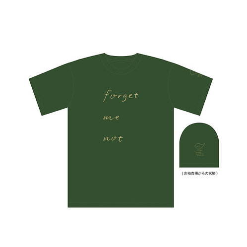 """""""forget me not"""" Tシャツ"""