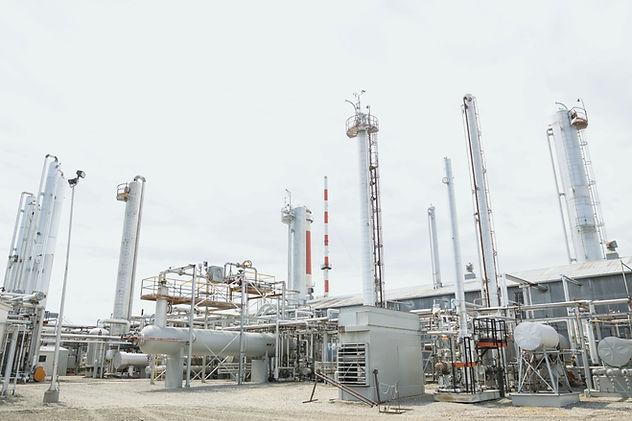 Onshore gas terminal