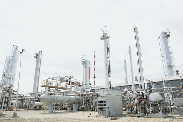 Fábrica de gás