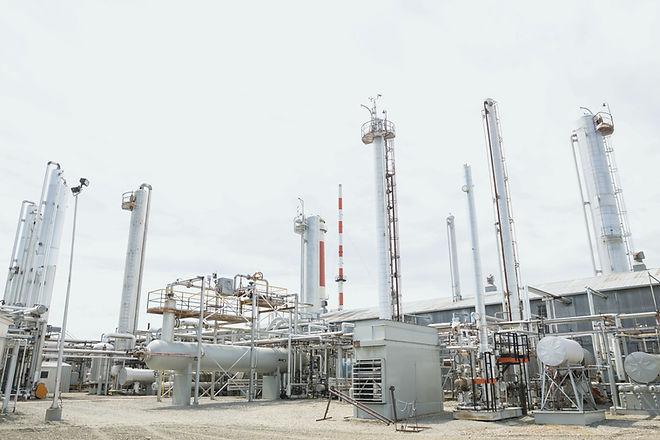 gasanläggning