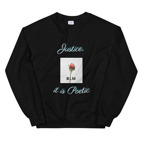 Unisex 'Justice' Crewneck Sweatshirt