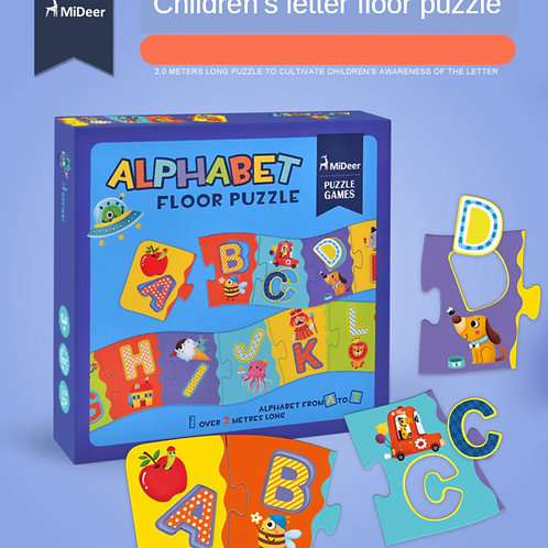 Alphabet Cognition Long Flooring Puzzle