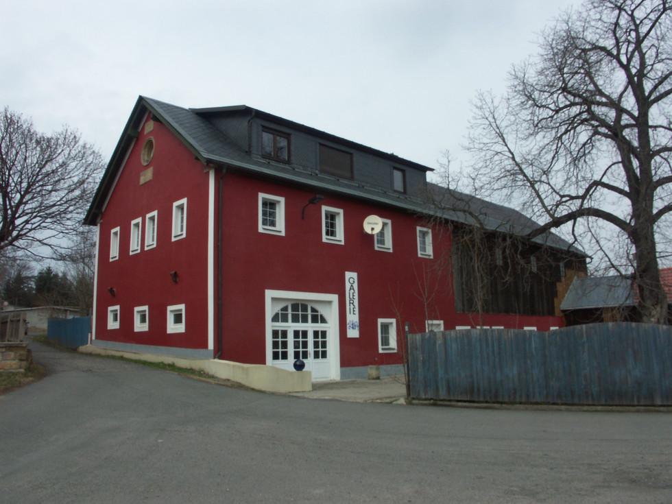 Beigebäude des Rittergut-/ Schlosskomplexes in Reichstädt, 17.04.2006