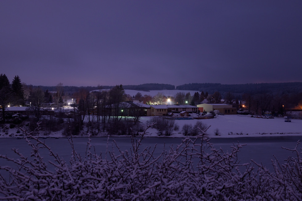 Erlebnisbad Paulsdorf, Langzeitbelichtung Anfang 2021