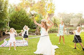 Bride-and-Kids-Hula-Hooping-at-Wedding-R