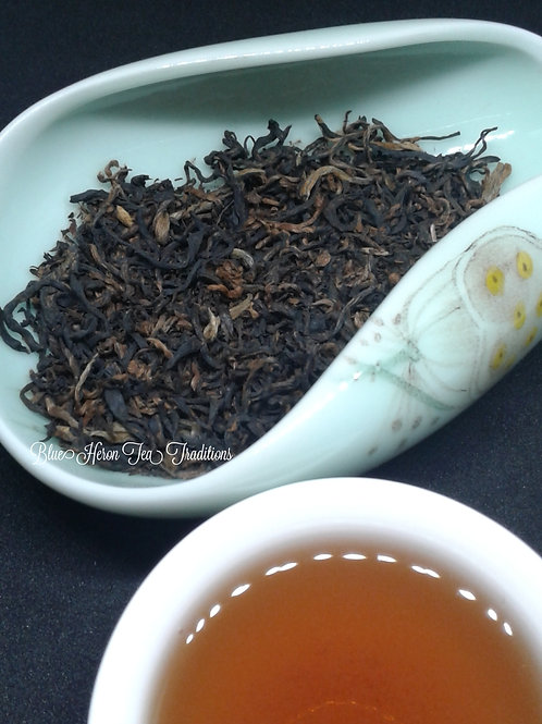 Golden Monkey tea at Blue Heron Tea Traditions