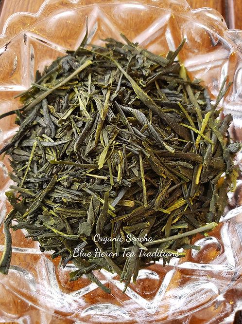 Organic Sencha at Blue Heron Tea Traditions