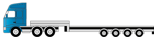 Semi-Tieflader