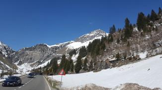 Arlberg Straßentunnel Sperre
