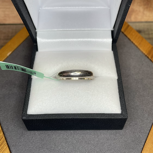Sterling band size 6.75