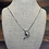 Thumbnail: 18k Dolphin Necklace, .35 ctw