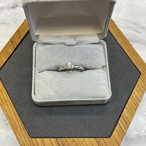 14k .31 carat diamond ring