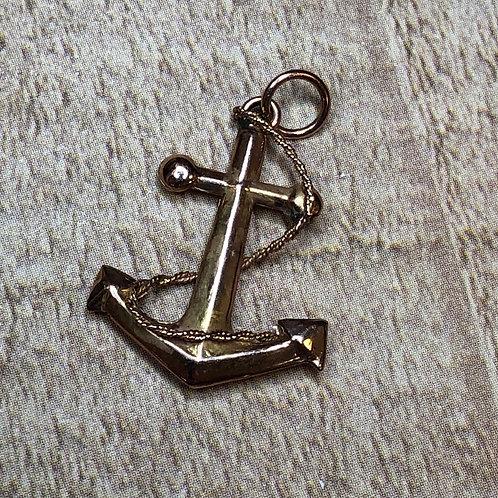 14k Anchor Charm