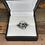 Thumbnail: 14k sapphire ring with .40 ctw diamonds