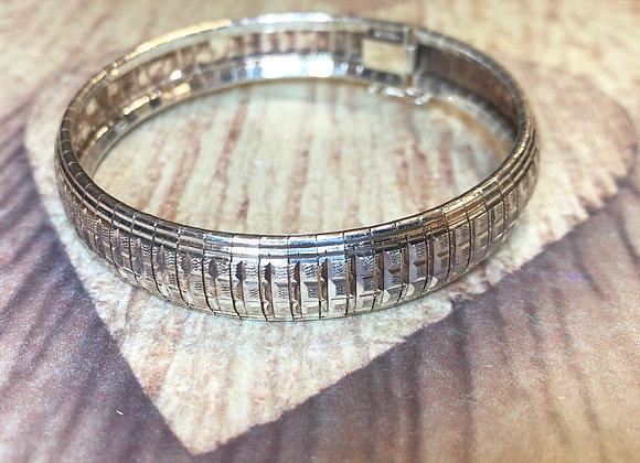 Sterling Silver Weave Bracelet