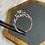 Thumbnail: 14k 1 carat diamond ring