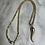 Thumbnail: 14k rope with 14k Italian horn pendant