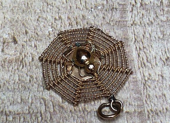 14k Gold Spiderweb