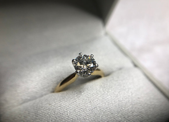 1.17CT Solitare Diamond Ring