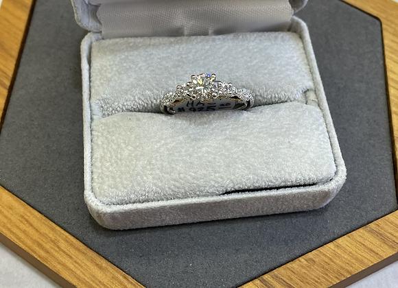 14k 1 carat diamond ring