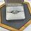 Thumbnail: 18k wedding set .90 ctw diamonds