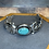 Thumbnail: Sterling turquoise cuff bracelet
