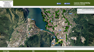 Lecco, la smart city dove le piante sono in un App