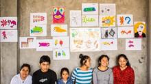Primer Wak'a-taller de dibujo