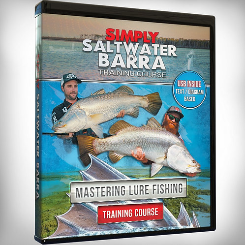 Simply Saltwater Barra - Training Course - USB Version