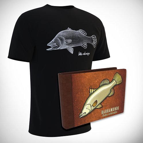 Barra Wallet & Tee - Gift Pack