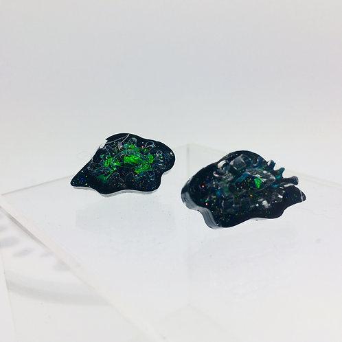 Glitter Toadskin  -  Studs Positive